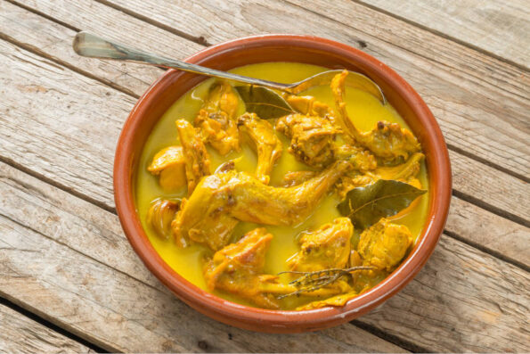 Butter Rabbit Curry, Family Meal